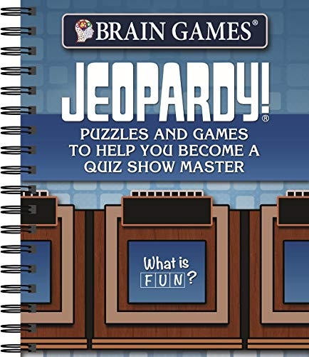 Brain Games - Jeopardy!: Puzzles and Games to Help You Become a Quiz Show Master