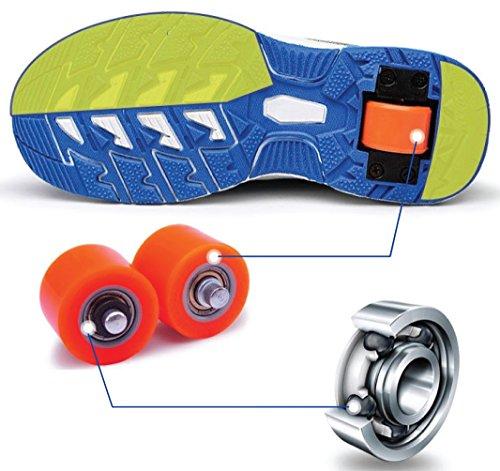 Ruedas de recambio para zapatillas automáticas - Varios colores Negro