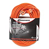 Best INNOVERA extension cord - Innovera - Indoor/Outdoor Extension Cord, 100ft, Orange 72200 Review