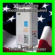 Omega Comfort OME 620-D LPG Tankless Propane Gas Water Heater -The  no plumbing modification tankless water heater