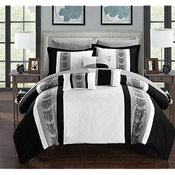 Amazon Com Legacy Decor 8 Pc Faux Silk Bella Comforter