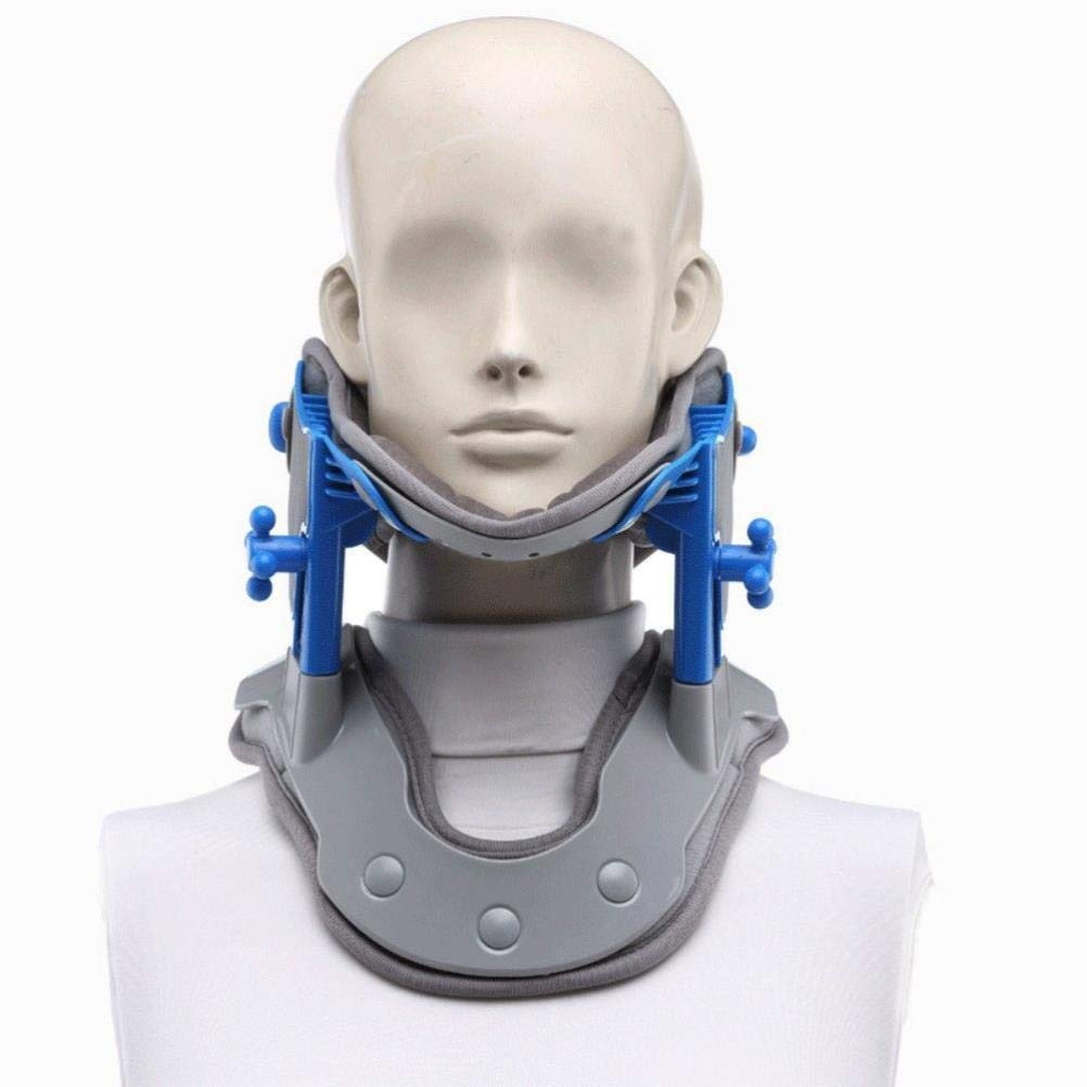 Neck And Neck Traction Device, Neck Massager And Support, Neck And Shoulder Pain Relief by RISSITEL