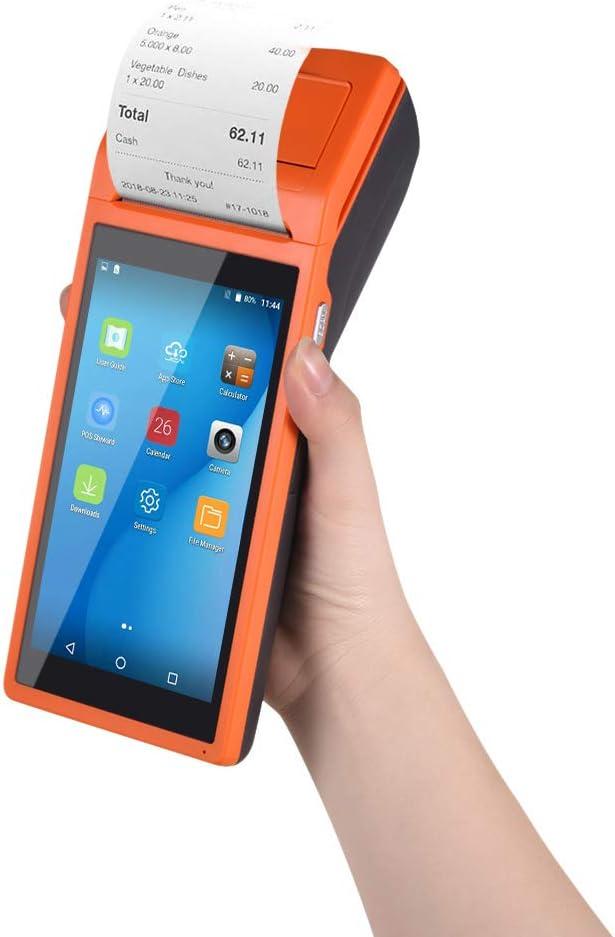 AibecyTodo en un PDA Impresora PDA Terminal inteligente de punto de venta Impresoras portátiles inalámbricas Función de terminal de pago inteligente BT/WiFi/USB Comunicación OTG / 3G / Escaneo 1D