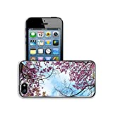 Luxlady Premium Apple iPhone 5 iphone 5S Aluminium Snap Case Beautiful thailanda s cherry blossom Chiang Mai Thailand IMAGE ID 25725923