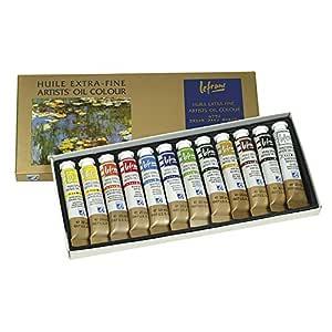 Lefranc & Bourgeois 404596 - Lote de 12 tubos de pintura ...
