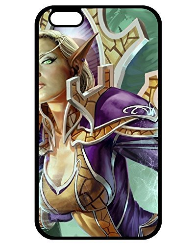 (Best 6966129ZA765440185I6P Top Quality Case Cover World Of Warcraft Blood Elf iPhone 6 Plus/iPhone 6s Plus phone Case Alan Wake Game Case's Shop)