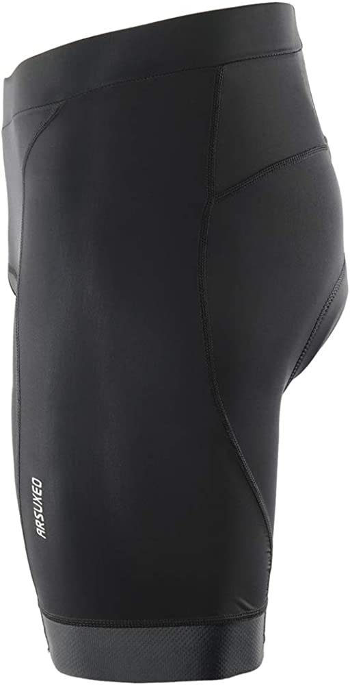 Lixada Mens Cycling Shorts Quick Dry Breathable Gel Padded Bike Riding Compression Shorts Tights