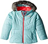 Columbia Little Girls' Katelyn Crest Jacket, Spray, XX-Small (4/5)