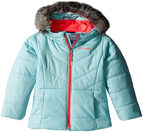 Columbia Little Girls' Katelyn Crest Jacket, Spray, XX-Small (4/5) by Columbia