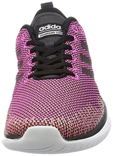 Ftwbla Gesprenkelt Laufschuhe Rot Cloudfoam Flex 40 nbsp;EU Pink Schwarz W adidas Rosimp Super Negbas Damen 64qwzp