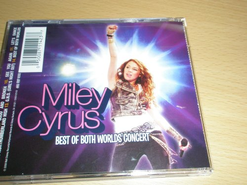 (Disney Hannah Montana and Miley Cyrus Best of Both Worlds Concert Cd+dvd)