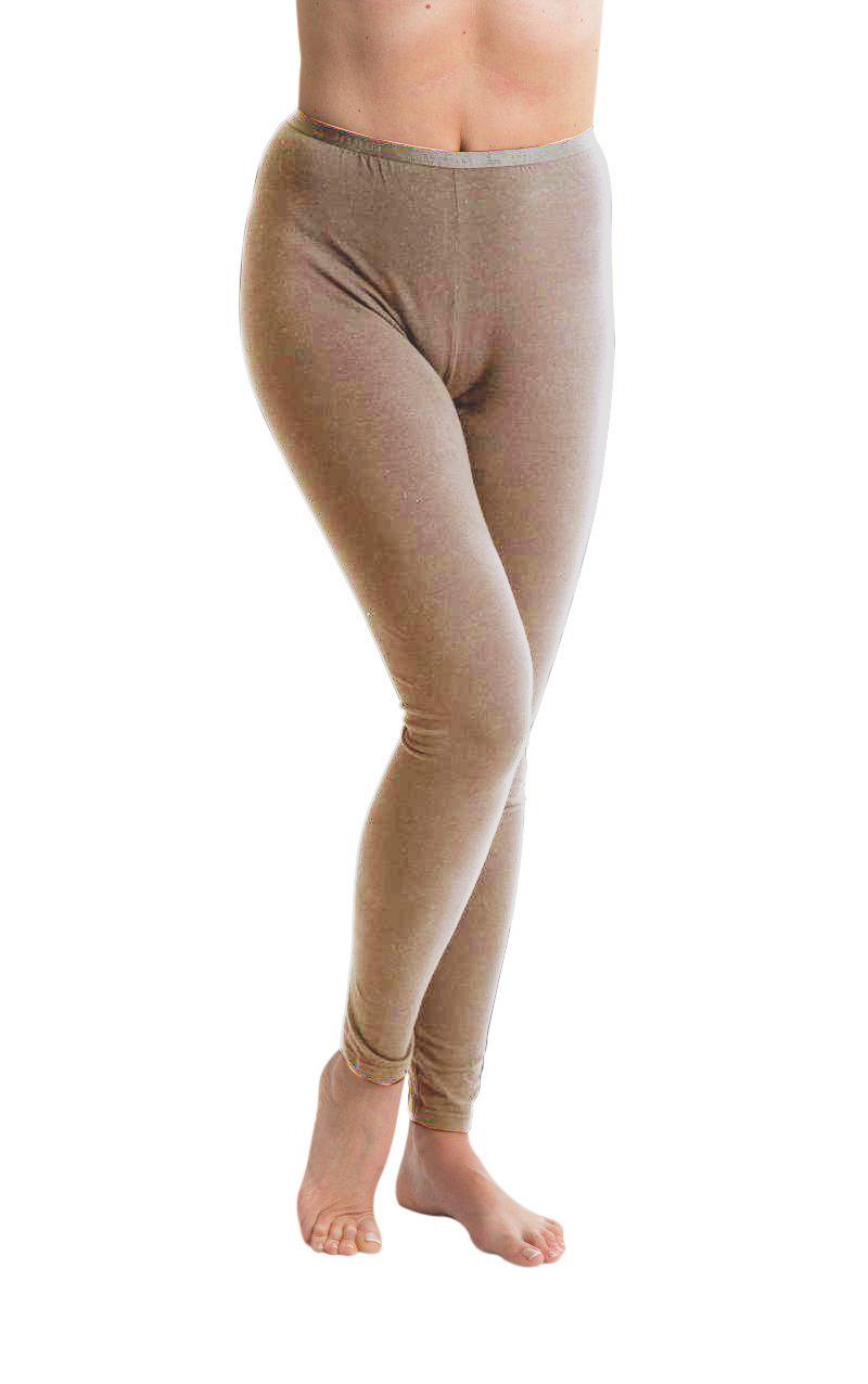 Passionelle® Ladies Full Length Luxury Leggings - Cotton with Elastane / Spandex GAWO0759