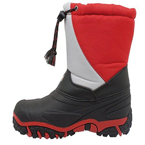 Styl Grand - 3108 - Bottes de neige Canadiennes Junior
