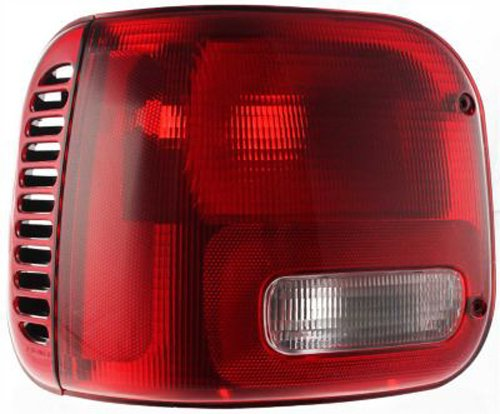 Dodge VAN Replacement Tail Light Unit - Driver (01 Dodge B2500 Van)
