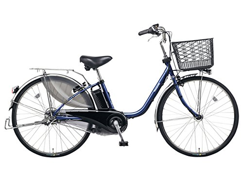 Panasonic(パナソニック) 2018年モデル ビビPX 24インチ BE-ELP434 電動アシスト自転車 専用充電器付 B078KFPHHPV:マットネイビー
