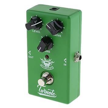 Homyl 1 x Pedal de Guitarra Eléctrica con Efecto Tubo de Aluminio para Afinadores de Música Conjunto de Recolección: Amazon.es: Instrumentos musicales