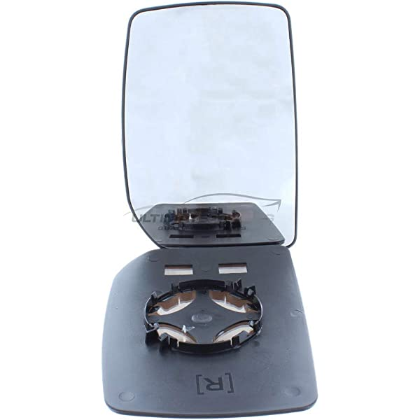 Wing Mirror Glass Heated Drivers Right O//S
