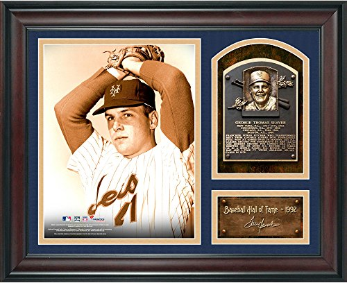 Tom Seaver Baseball Hall of Fame Framed 15