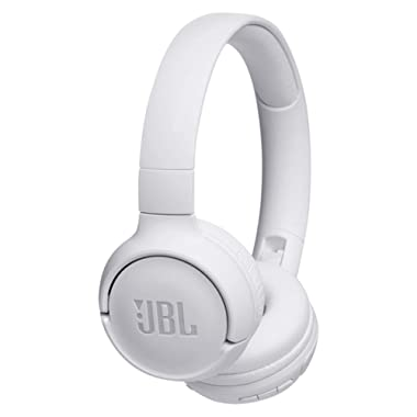 JBL TUNE500BT Wireless On-Ear Headphones with One-Button Remote and Mic (White)