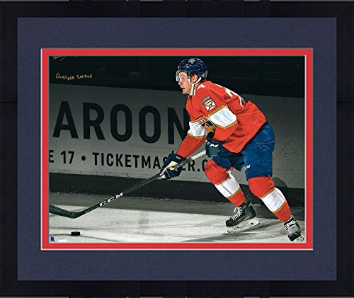 """Framed Owen Tippett Florida Panthers Autographed 16"""" x 20"""" S"""