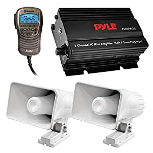 Amazon.com: Speaker And Amp Audio Package Of 2x Pyle PHSP4