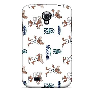 Samsung Galaxy S4 DkG4803IjvD Allow Personal Design Realistic Seattle Mariners Series Excellent Cell-phone Hard Covers -LauraAdamicska