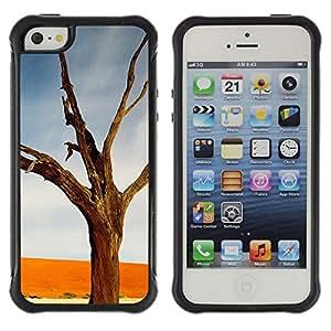 "Hypernova Defender Series TPU protection Cas Case Coque pour Apple iPhone SE / iPhone 5 / iPhone 5S [Planta Naturaleza Forrest Flor 15""]"