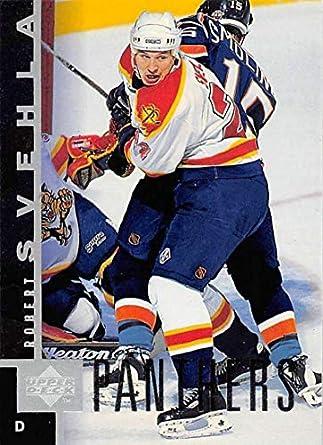 1997-98 Upper Deck Hockey Card  73 Robert Svehla Florida Panthers Official  NHL Trading 1afc07891