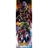 Avengers: Infinity War War Personaggi Poster da Porta, Carta, 158x 53x 0.03cm