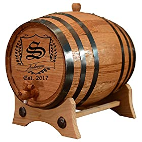 Personalized – Vintage Customized American White Oak Aging Barrel – Barrel Aged