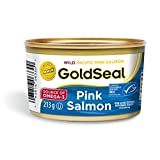 Gold Seal Pink Salmon - 213g - 6 Count - Natural Source of Omega 3 - Zero Trans Fat - Good Source of Protein - Source of Calcium - Low in Saturated Fat