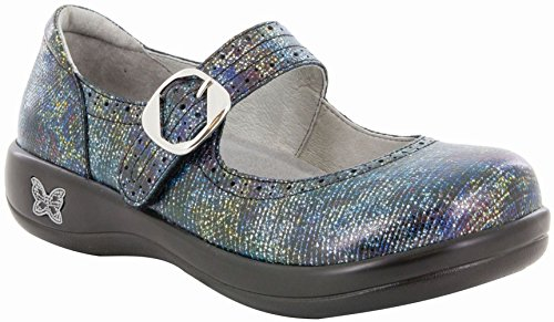 Alegria Womens Kourtney Mary Jane, Glimmer Glam, Size 40 EU (9.5-10 M US Women)