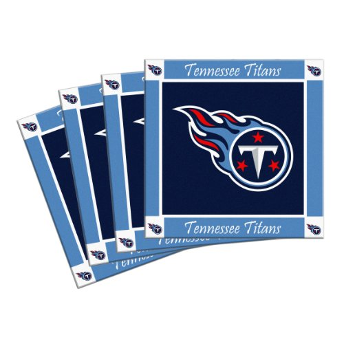Titans Ceramic Tennessee - Boelter Brands NFL Tennessee Titans 4-Pack Ceramic Coasters