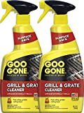 Goo Gone Grill & Grate Cleaner [2 Pack] Cleans Cooking Grates & Racks - 24 Fl. Oz