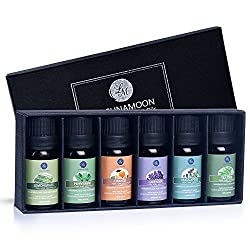 """Invigorate your mind and senses with LAGUNAMOON Essential Oils.  Beauty comes not only from the outside, but also from the inside.   Fine, natural, chic.  That's what we represent.   """"Mind Acuity"""":  This themed Set of LAGUNAMOON Essential Oils conta..."""