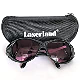 Laserland SK-6-2 780nm 808nm 810nm 830nm OD4+ IR Infrared Laser Protective Goggles Safety Glasses Protection...