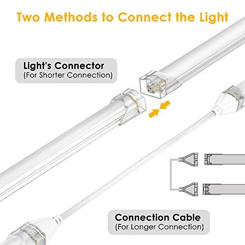 Led Lichtleiste Küche, LED Unterbauleuchte Schrankleuchte 5 Stück ...