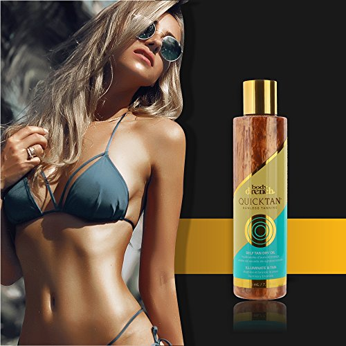 Body Drench Quick Tan Sunless Tanning Self Tan Dry Oil