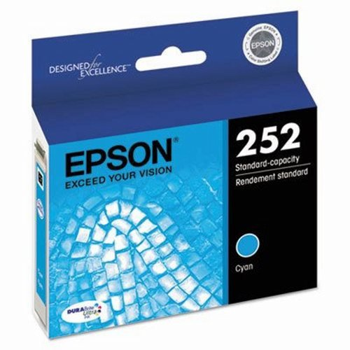 Price comparison product image Epson T252220 (252) DURABrite Ultra Ink,  Cyan (EPST252220)