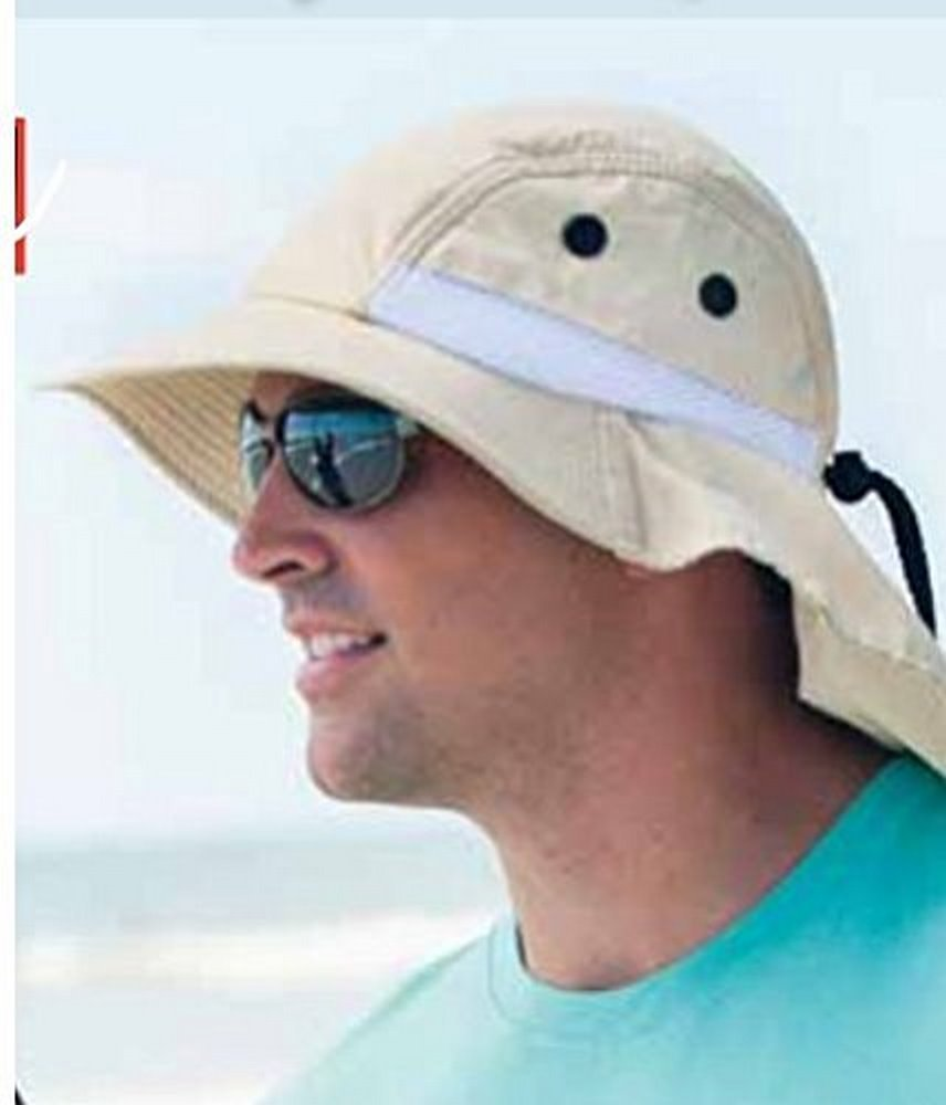 73717fc5 Amazon.com: Adam's Headwear EXTREME CONDITION HAT - UPF 45+ - 6 Colors:  Clothing