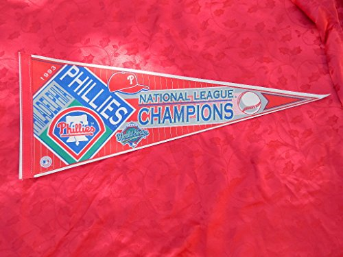 PHILADELPHIA PHILLIES NATIONAL LEAGUE CHAMPIONS MLB BASEBALL (Philadelphia Phillies Pennant)