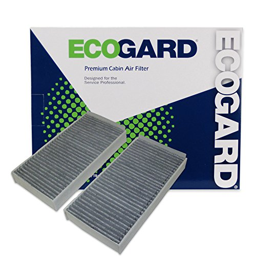 ECOGARD XC10389C Cabin Air Filter with Activated Carbon Odor Eliminator - Premium Replacement Fits Mini Cooper / BMW X1, i3 / Mini Cooper Clubman, Cooper Countryman