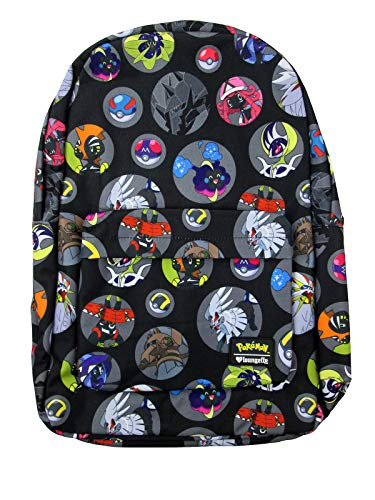 Loungefly x Pokemon Legendary Pokemon Printed Nylon Backpack (Multicolored, One Size) -