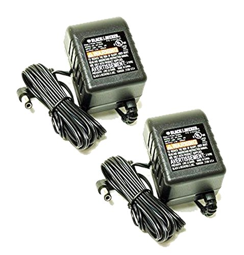 Black & Decker 9072CTN/9078 Replacement (2 Pack) Wall Charger # 5102293-10-2pk by BLACK+DECKER