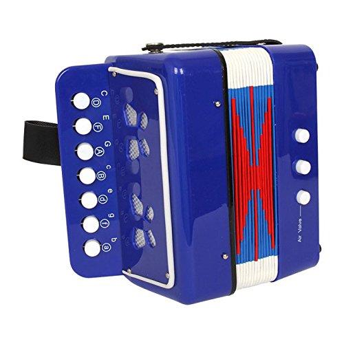 Small Foot Company 3318 - Musikinstrument - Akkordeon, blau