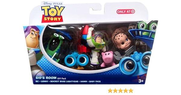 Mattel Disney Pixar Toy Story - Sids Room - Gift Pack - RC, Lenny ...