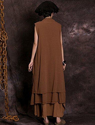 MatchLife - Vestido - vestido - para mujer naranja