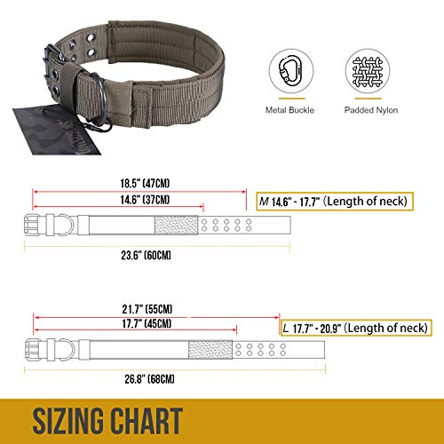 51Er9QaJDpL. SS500  - Military Adjustable Dog Collar