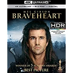 BRAVEHEART and GLADIATOR explode onto 4K Ultra HD May 15th from Paramount
