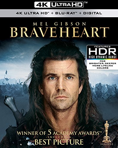 4K Blu-ray : Braveheart (With Blu-Ray, 4K Mastering, Widescreen, Subtitled, AC-3)